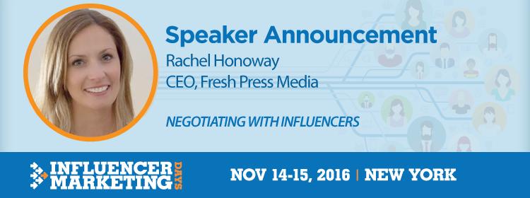 Rachel Honoway at IMD